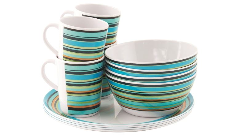 Easycamp Java Melamine Set 4 Persons
