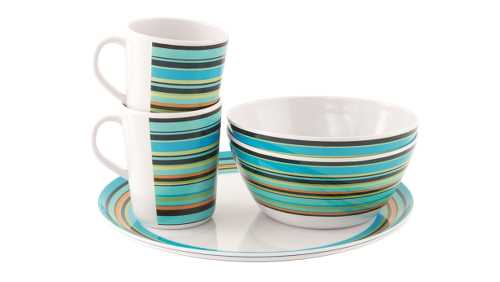 Java Melamine Set 2 Persons